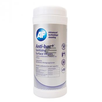 ABSCW50T AF ANTI-BAC+ (50) Spenderdose Reinigungstuecher