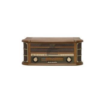 Denver MCR-50 Retro Plattenspielen mit Radio, CD, Kassettendeck, USB Eingang