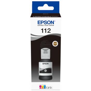 Epson Tintenflasche schwarz (C13T06C14A, 112)