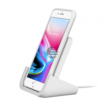 Logitech POWERED Wireless Charger - induktive Ladestation, weiß