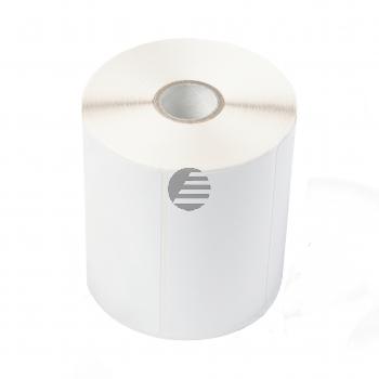 Brother Frankierstreifenrolle unbeschichtet weiß 1100 Etiketten 102.0mm x 74.0mm (BUS-1J074102-121)