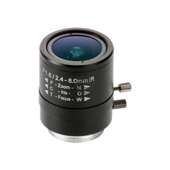 AXIS - CCTV-Objektiv - manuelle Irisblende - 6.4 mm (1/4