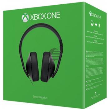 Microsoft Xbox One Stereo Headset - Headset - ohrumschließend - kabelgebunden - Schwarz
