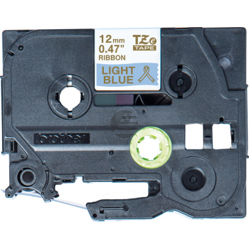 PTOUCH Band hellblau/gold TZE-RL34 Tze Geräte 12-36mm