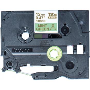 PTOUCH Band mintgrün/gold TZE-RM34 Tze Geräte 12-36mm