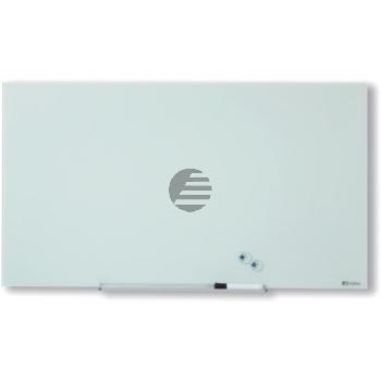 NOBO Diamond Glass Whiteboard 1905177 weiss 1260x711mm