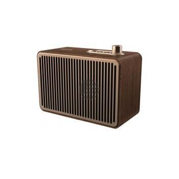 Philips TAVS500, tragbarer Bluetooth Lautsprecher, Holzgehäuse
