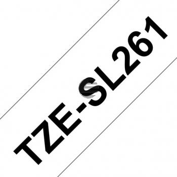 PTOUCH Band selbst lam. schwarz/weiss TZE-SL261 PT-D800W/D900W 36mm