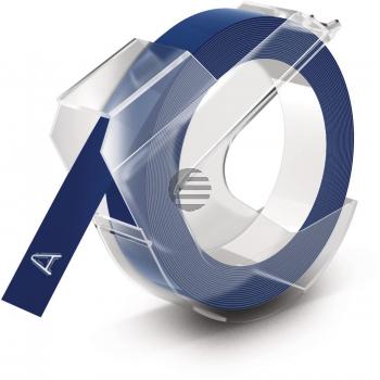 DYMO 3D-Prägeband 9mmx3m 520106 blau