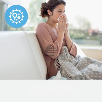 LEITZ Aktivkohlefilter TruSens 2415116 Allergie & Grippe, HEPA