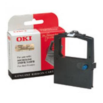 OKI Farbband Nylon schwarz (09002310)