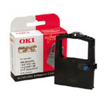OKI Farbband Nylon schwarz (09002303) ersetzt 41165.00.2.08, 2562934-0001