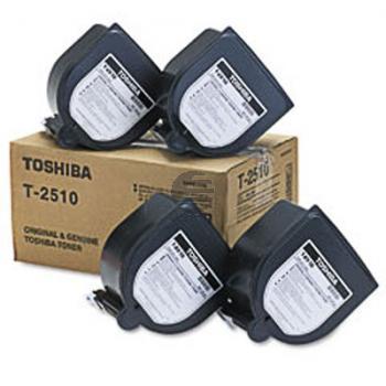 Toshiba Toner-Kit 4 x schwarz (60066062023, T-2510E)