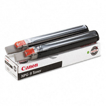 Canon Toner-Kit 2 x schwarz (1379A003, NPG-9)