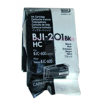 Canon Tintenpatrone schwarz HC (0946A001, BJI-201BKHC)