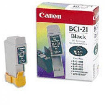 Canon Tintenpatrone schwarz (0954A002, BCI-21BK)