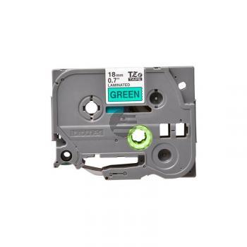 Brother Schriftbandkassette schwarz/grün (TZE-741)