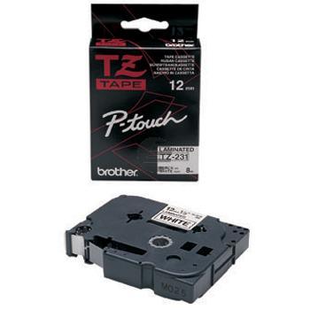 Brother Schriftbandkassette schwarz/weiß (TZE-231)