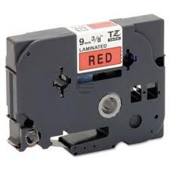 Brother Schriftbandkassette schwarz/rot (TZE-421)