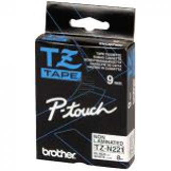 Brother Schriftbandkassette schwarz/weiß (TZE-N221)