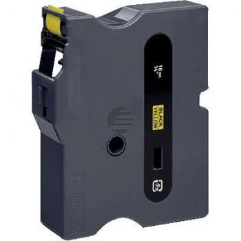 Brother Schriftbandkassette schwarz/gelb (TX-641)