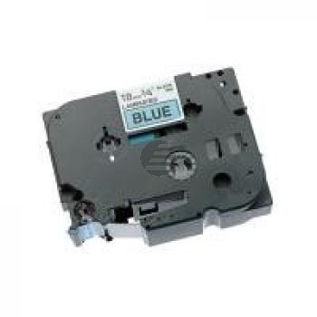 Brother Schriftbandkassette schwarz/blau (TX-551)
