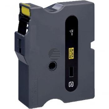 Brother Schriftbandkassette schwarz/gelb (TX-651)