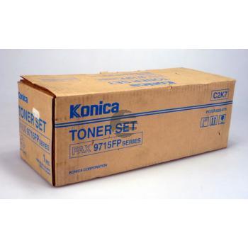 Konica Toner-Kit schwarz (30029, C2K7)