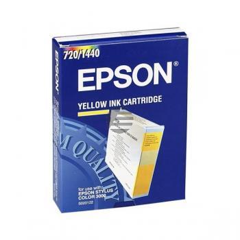 Epson Tintenpatrone gelb (C13S020122)