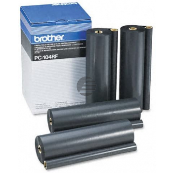 Brother Thermo-Transfer-Rolle schwarz (PC-104RF)