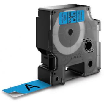Dymo Schriftbandkassette schwarz/blau (45806)