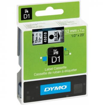 Dymo Schriftbandkassette blau/transparent (45011)
