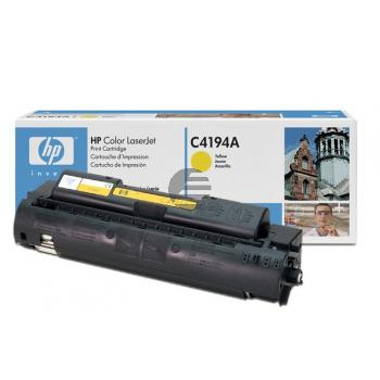 HP Toner-Kit gelb (C4194A, 640A)
