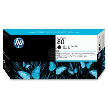 HP Tête d'impression jet d'encre noir (C4820A, 80)