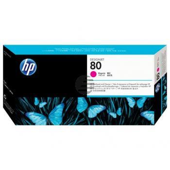 HP Tintendruckkopf magenta (C4822A, 80)