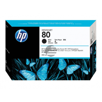 HP Tintenpatrone schwarz (C4871A, 80)