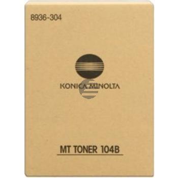 Konica Minolta Toner-Kit 2 x schwarz (8936-304-000, MT-104B)