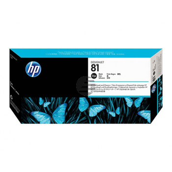 HP Tintendruckkopf schwarz (C4950A, 81)