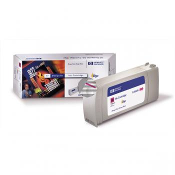 HP Tintenpatrone magenta (C4932A, 81)