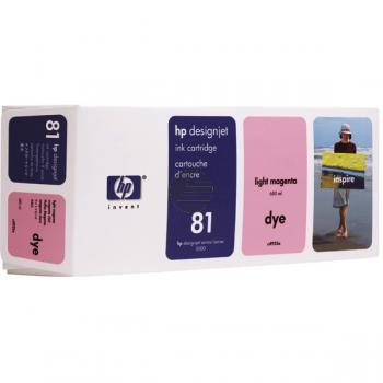 HP Tintenpatrone magenta light (C4935A, 81)