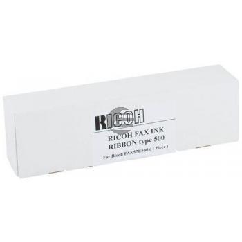 Ricoh Thermo-Carbon-Farbband schwarz (920616, TYPE-500)