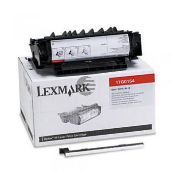 Lexmark Toner-Kartusche schwarz HC plus + (17G0154)