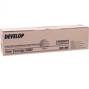 Develop Toner-Kit 2 x schwarz (8936-4060-000, TYPE-302)