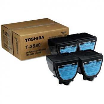 Toshiba Toner-Kit 4 x schwarz (66089333, T-3580E)