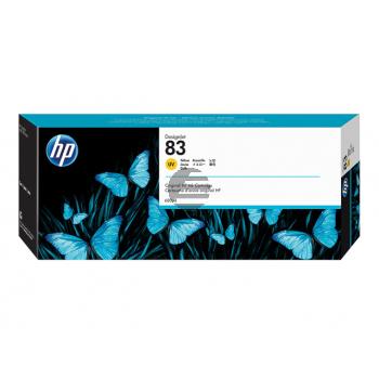 HP Tintenpatrone UV-Tintensystem gelb (C4943A, 83)