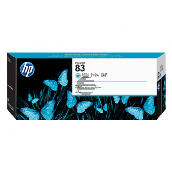 HP Tintenpatrone UV-Tintensystem cyan light (C4944A, 83)