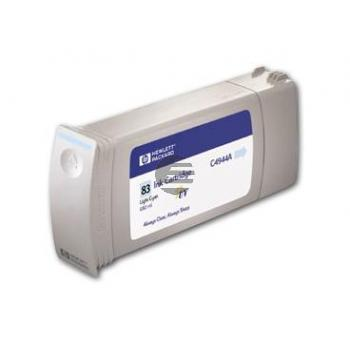 HP Tintenpatrone UV-Tintensystem cyan light (C4944A, 83)
