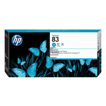 HP Tintendruckkopf UV-Tintensystem cyan (C4961A, 83)