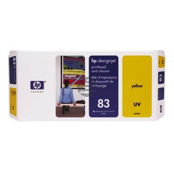 HP Tintendruckkopf UV-Tintensystem gelb (C4963A, 83)