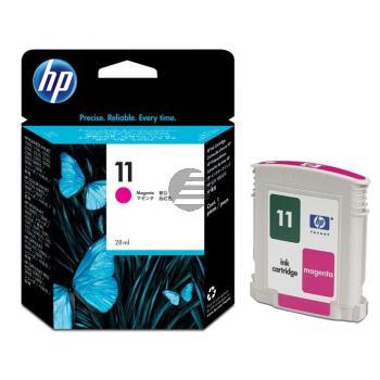 HP Tintenpatrone magenta HC (C4837AE, 11)